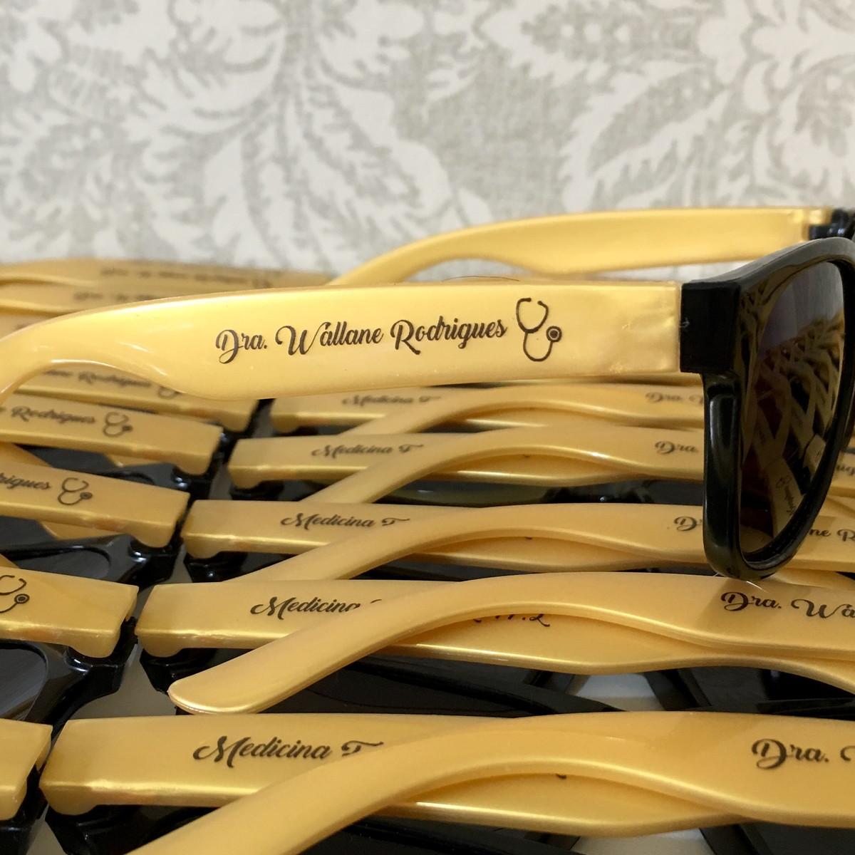 Óculos de Sol Personalizados Bicolor no Elo7   Sal e Pimenta ... de27c30a3d
