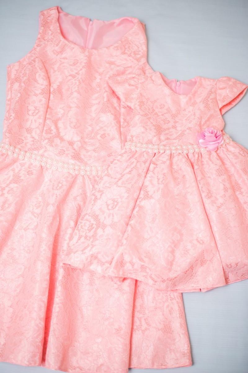 Vestidos Tal Mãe Tal Filha Rosa