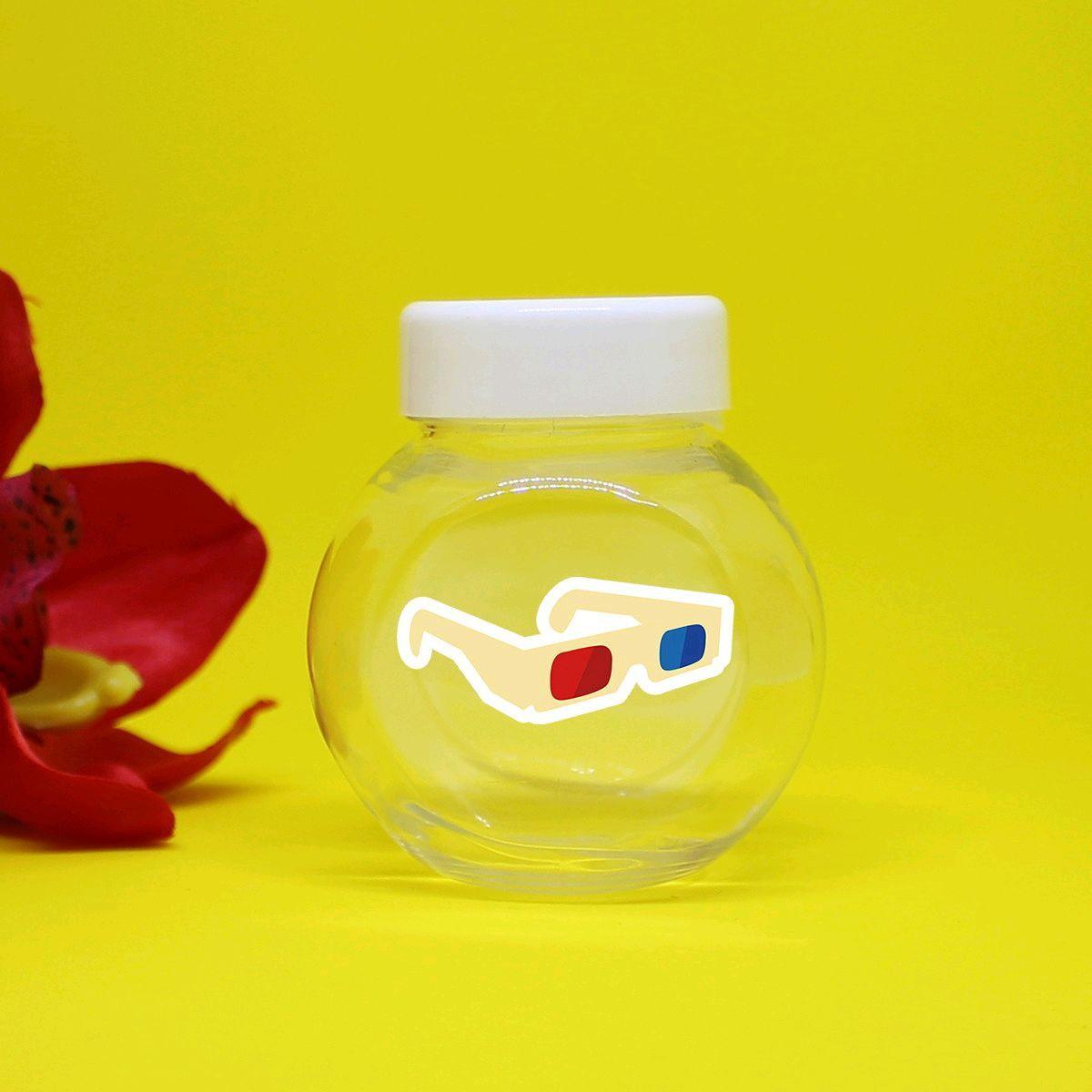 Mini-baleiro de plástico - cinema Hollywood óculos 3D no Elo7   A ... c6beca24d9