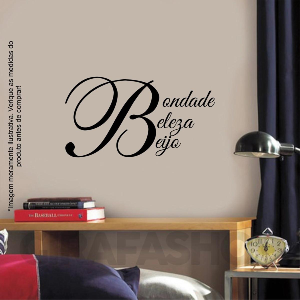 bf617d854 Adesivo de Parede Letra