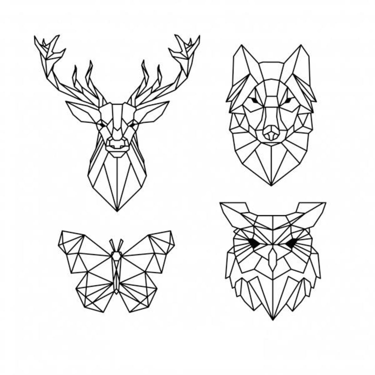 Figuras Geométricas Em 3D No Elo7