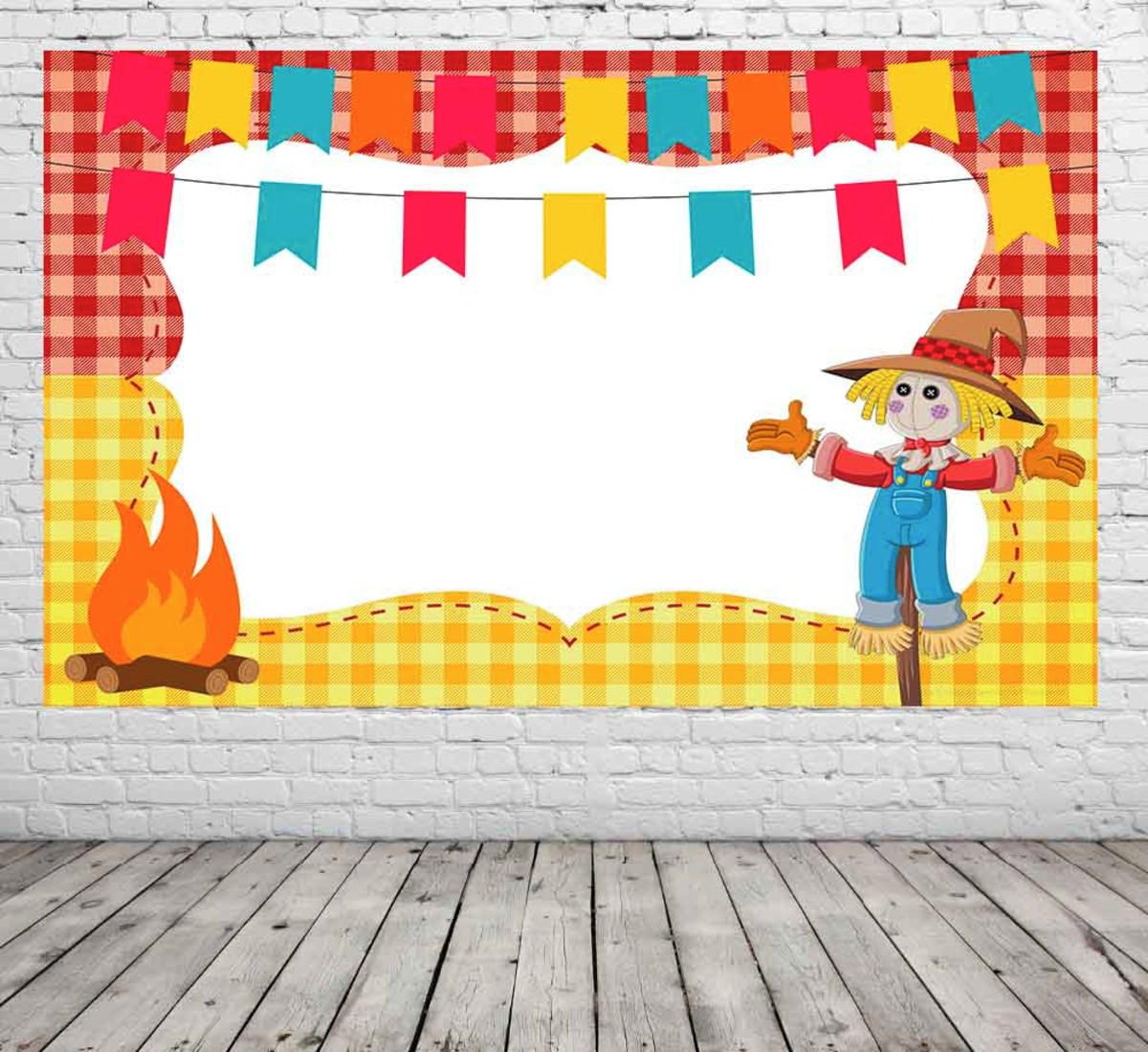 Painel De Decoração Festa Junina