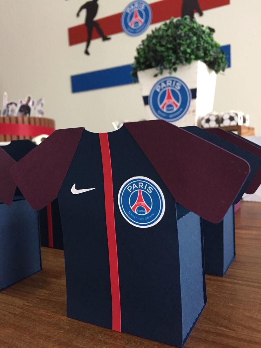 587cb89896 Caixa Camisa Paris Saint Germain no Elo7 | Memórias Coloridas ...
