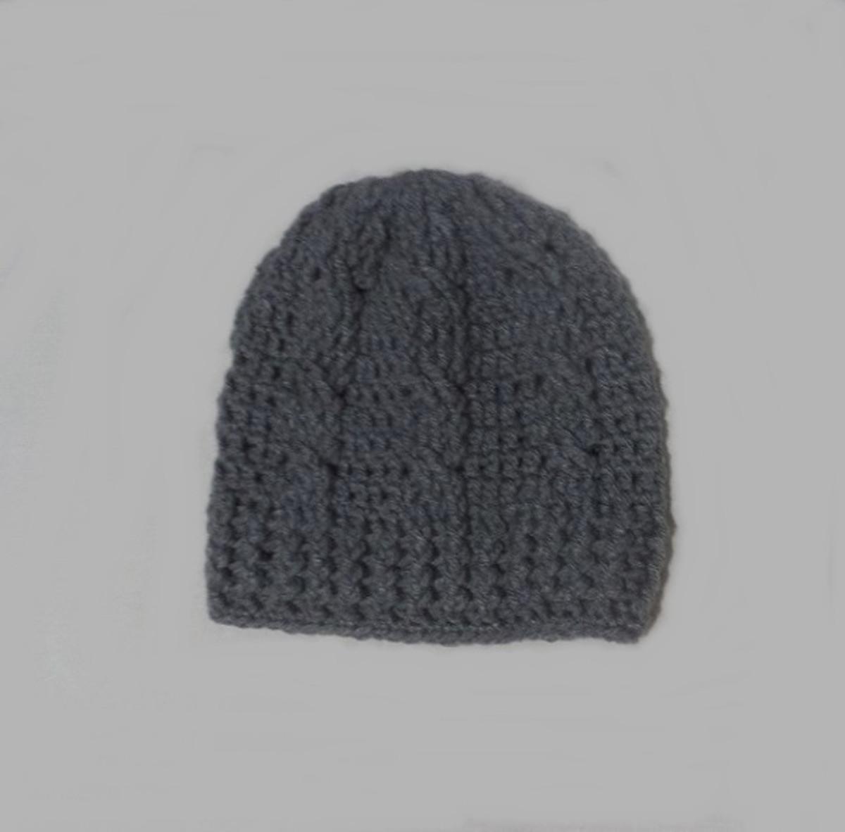 962b926425eca Gorro masculino -crochê feito c  lã-Promoção-Pronta entrega! no Elo7 ...