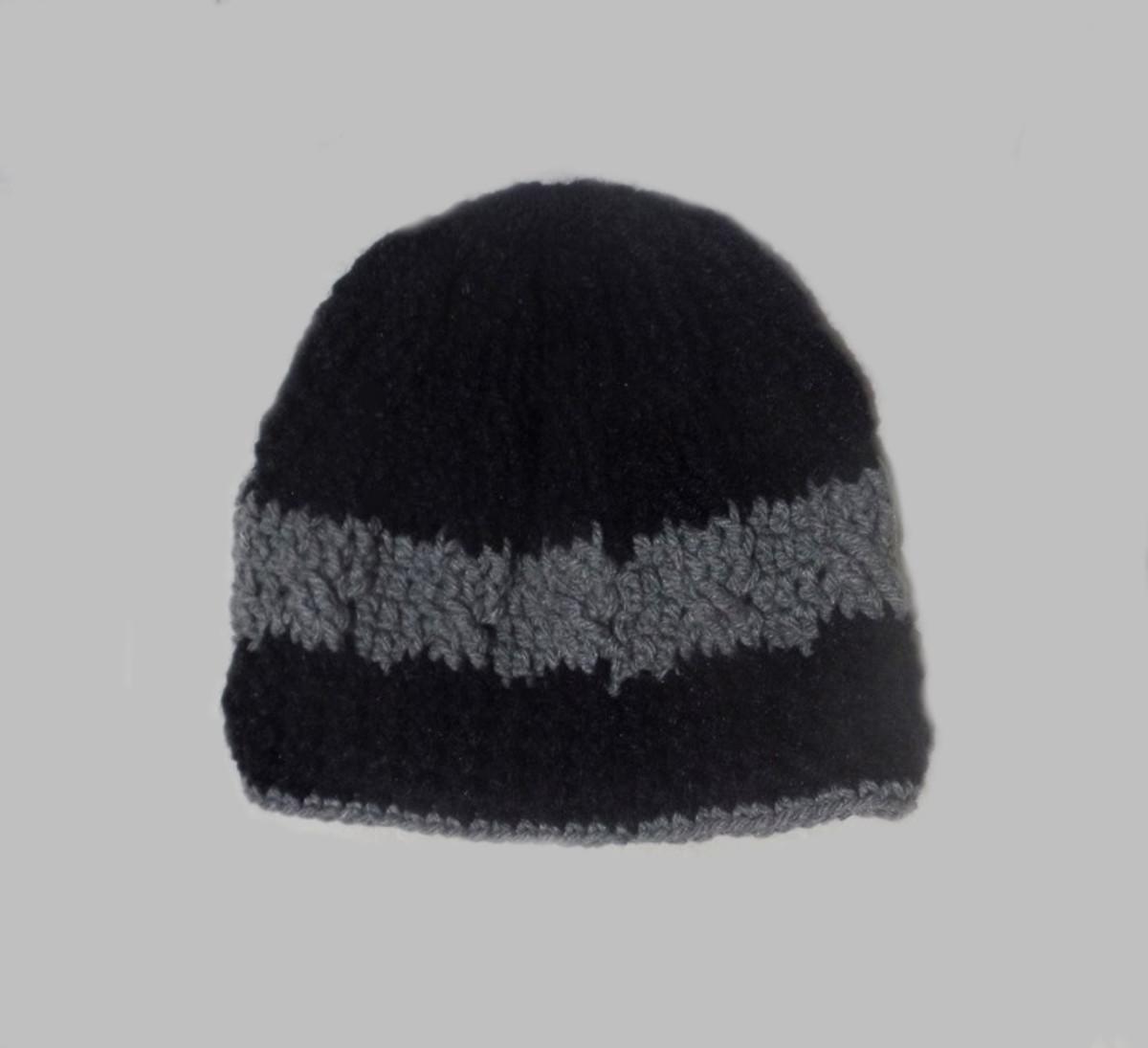 Gorro masculino-crochê feito c  lã-Promoção-Pronta entrega! no Elo7 ... 2aaa42376ff
