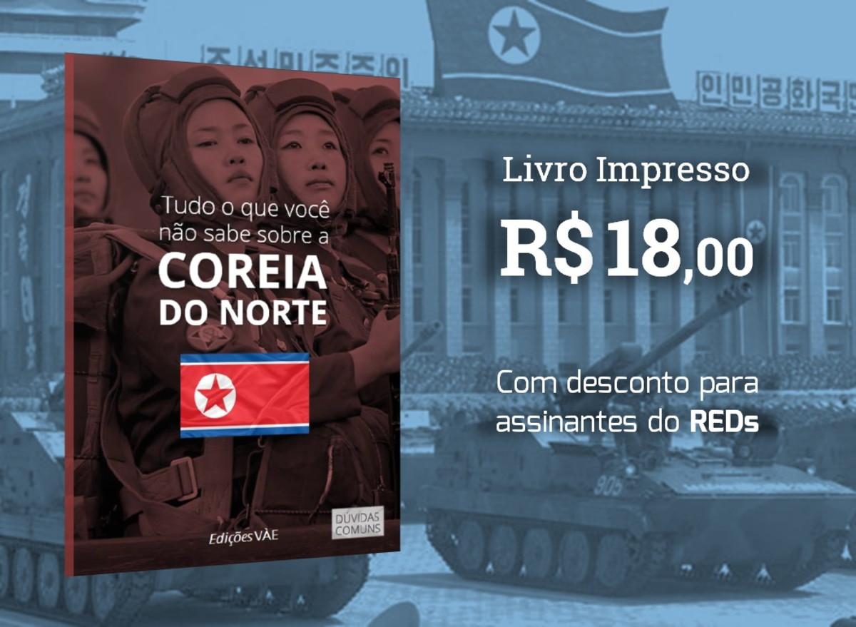 7541855a4f9aaa Tudo o que você não sabe sobre a Coreia do Norte (R$ 18)