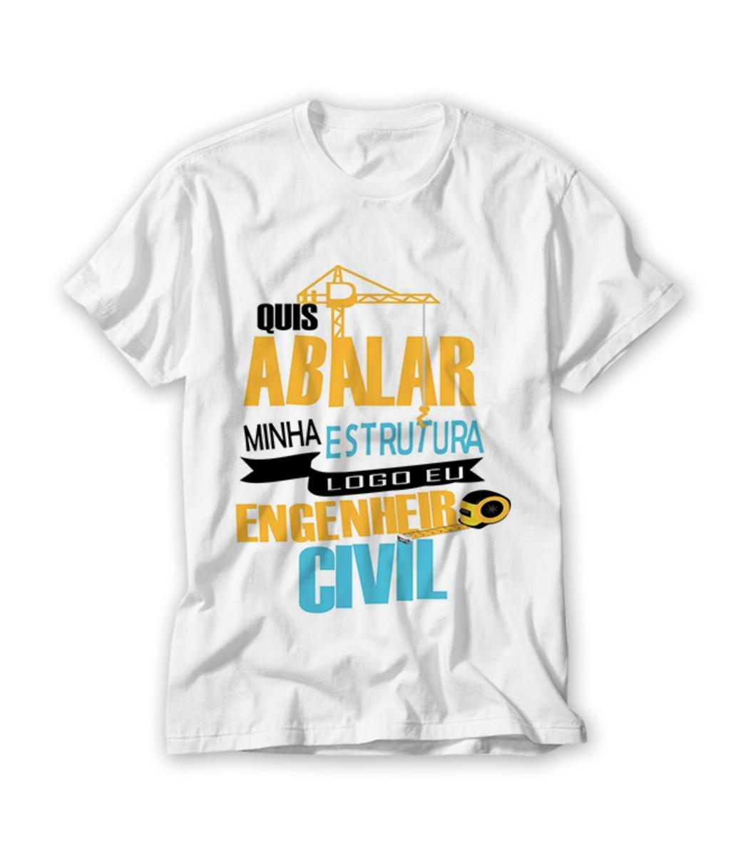 Camiseta Profissão Engenheiro Civil No Elo7 Ra Produtos