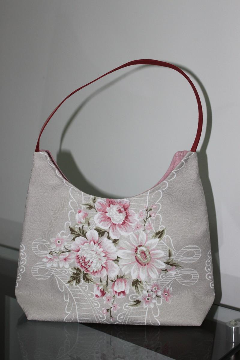 78e94a0fb Bolsa Ferrara - cor de rosa/bege no Elo7   ETÁ ATELIÊ (C121B4)