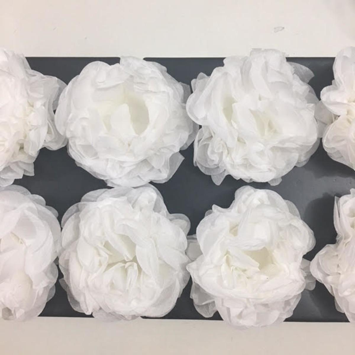 Forminha De Papel Crepom Branca 40