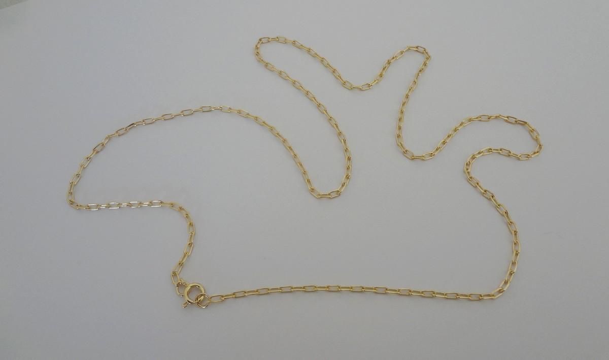 4a08407d553 Corrente Folheada a Ouro - Elos Cartier - 60 cm no Elo7