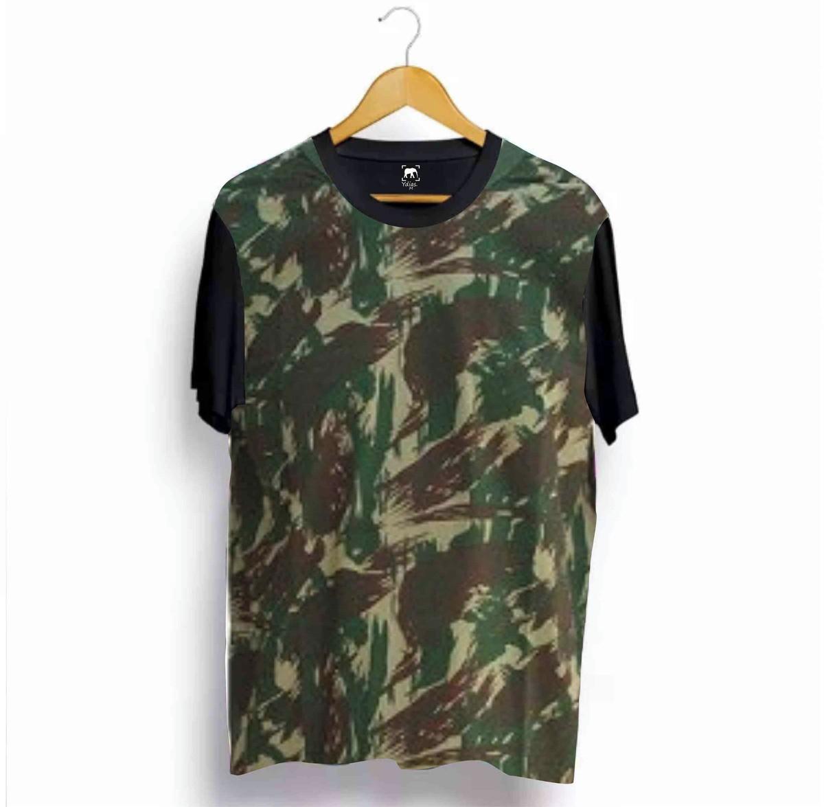 Camiseta Camuflada Ydias Estampa 36 no Elo7  3b1d99eb6f1