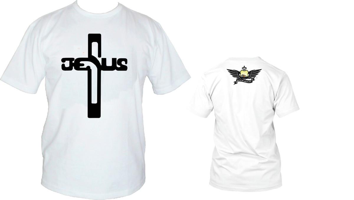 525d60d1f Camisa Gospel Adorador - Cruz Jesus no Elo7