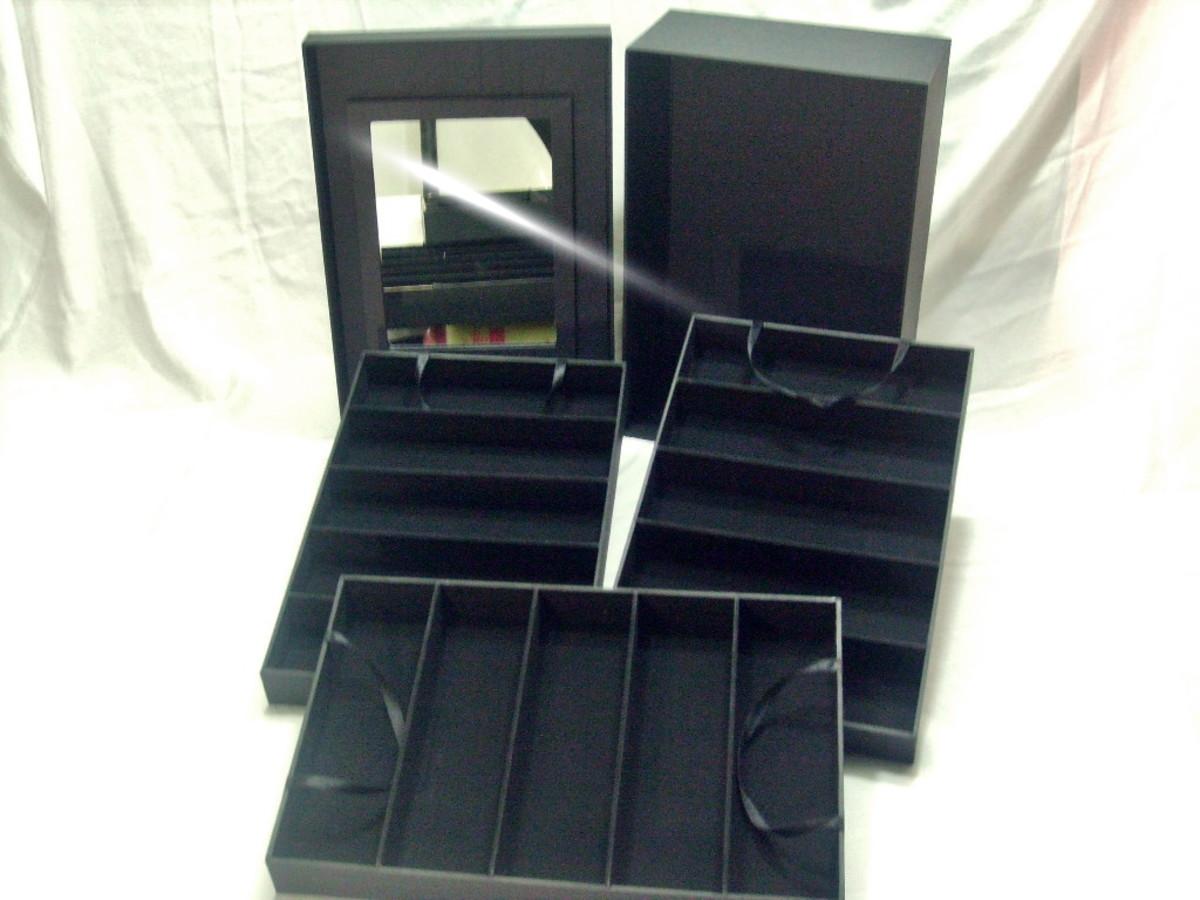 1b4eeaa1435 Caixa para óculos ou relógios Cat 2 no Elo7