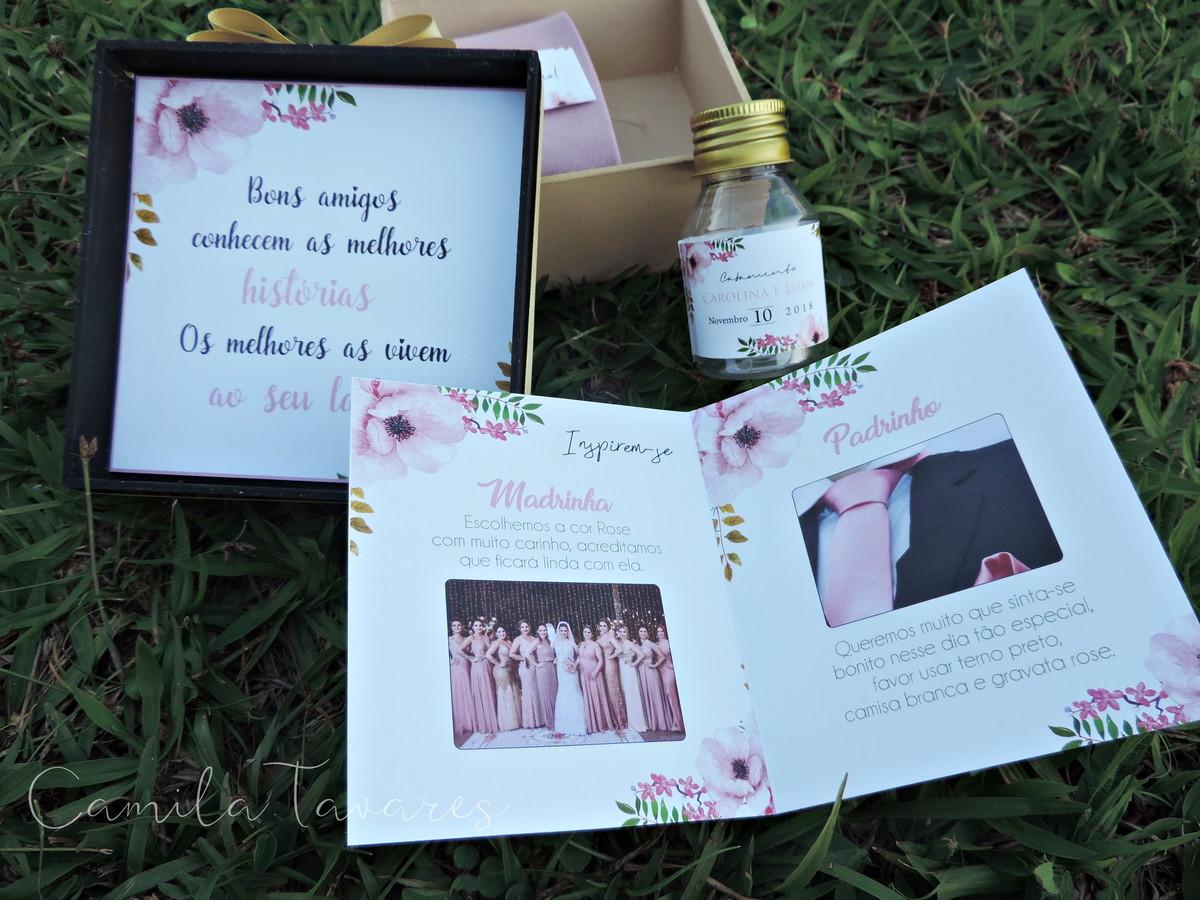 Caixa Padrinhos Tiffany 19x13x35 No Elo7 Convite De Casamento 736e6b4300a