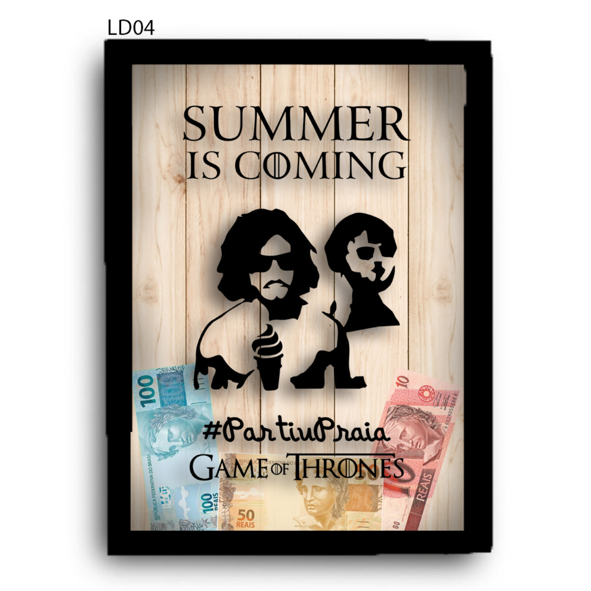 Zoom · Quadro Cofre GOT SUMMER IS COMING LDQC15