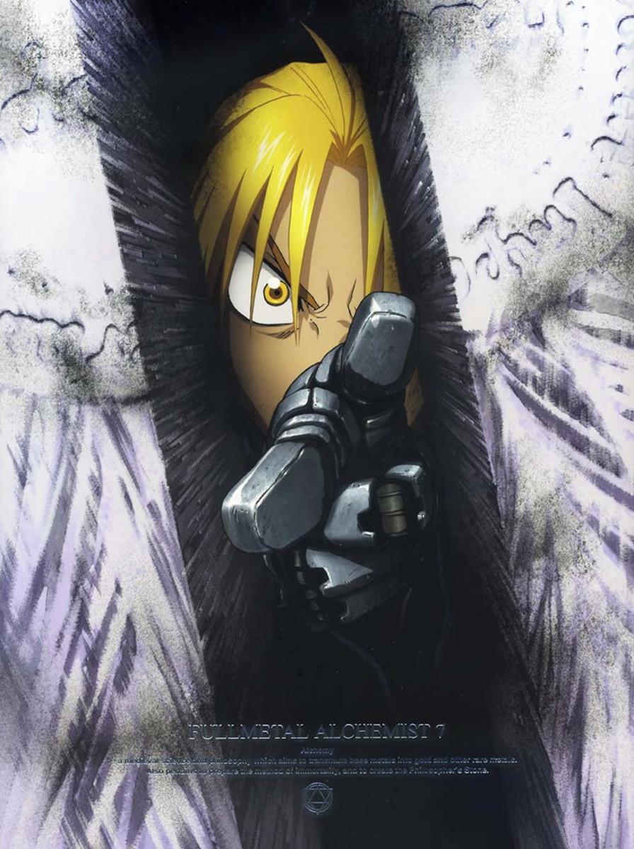 Big Poster do Anime Fullmetal Alchemist - 90x60 cm - LO026 ...