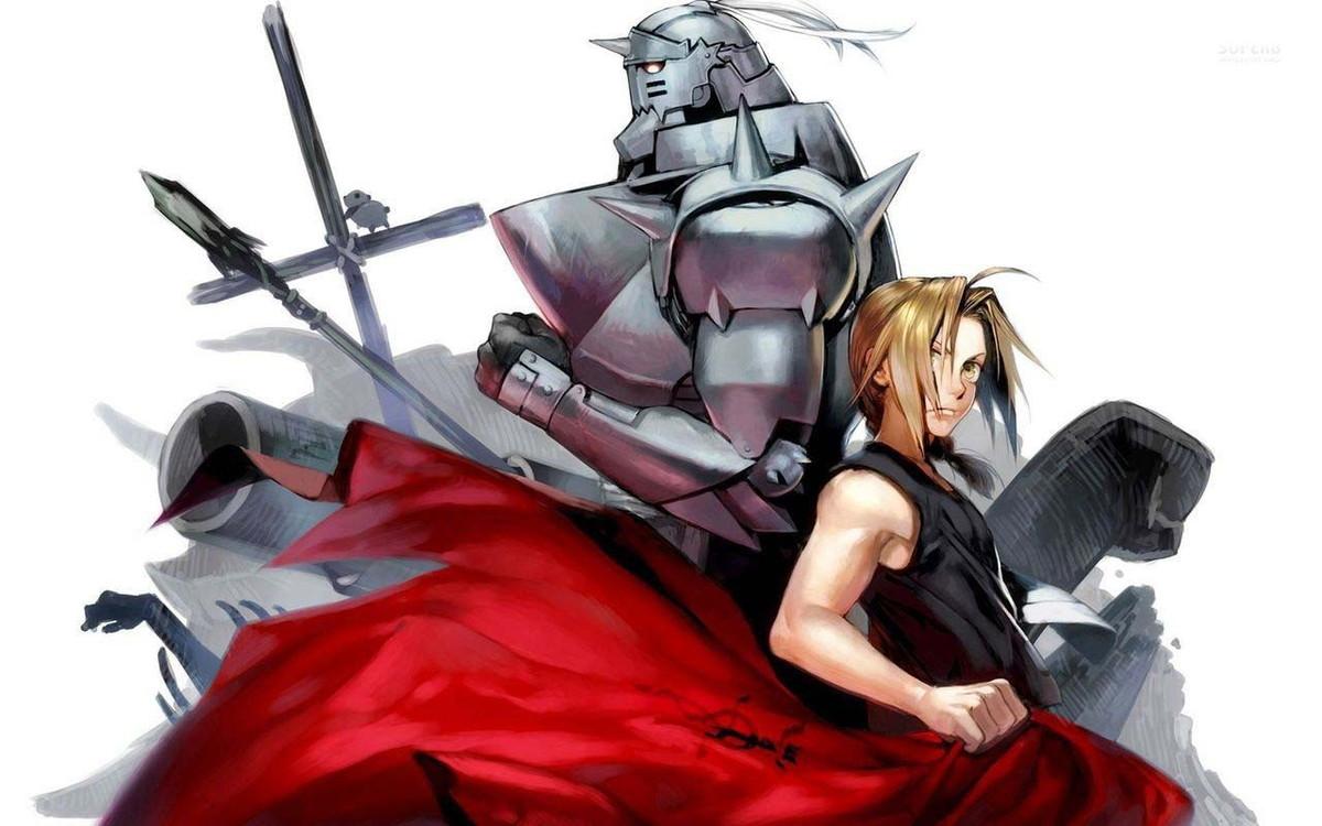 Big Poster do Anime Fullmetal Alchemist - 90x60 cm - LO069 ...