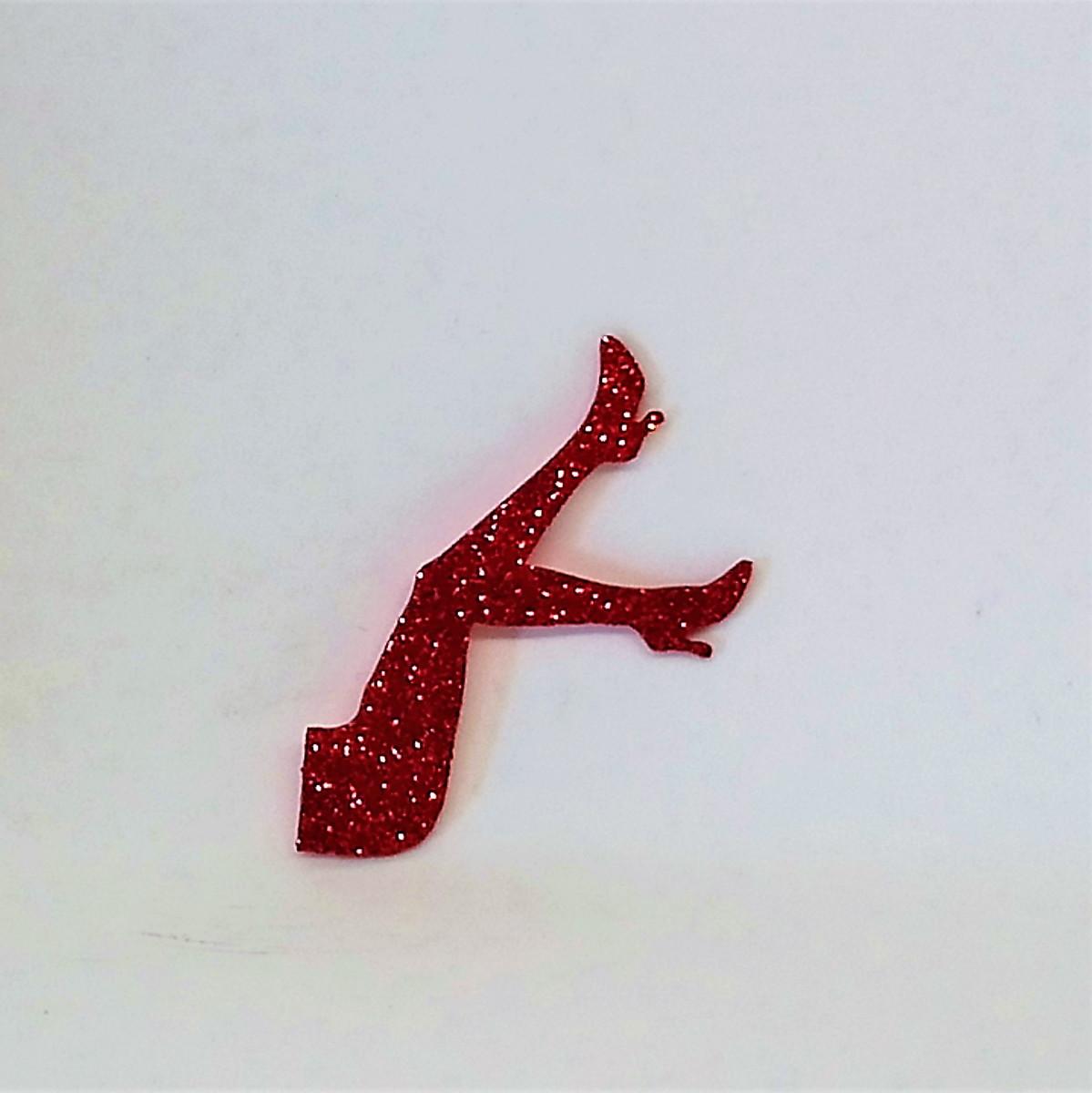 Imagem (fonte): https://www.elo7.com.br/aplique-em-eva-com-glitter-pernas-para-o-ar-6cm/dp/C25B7E