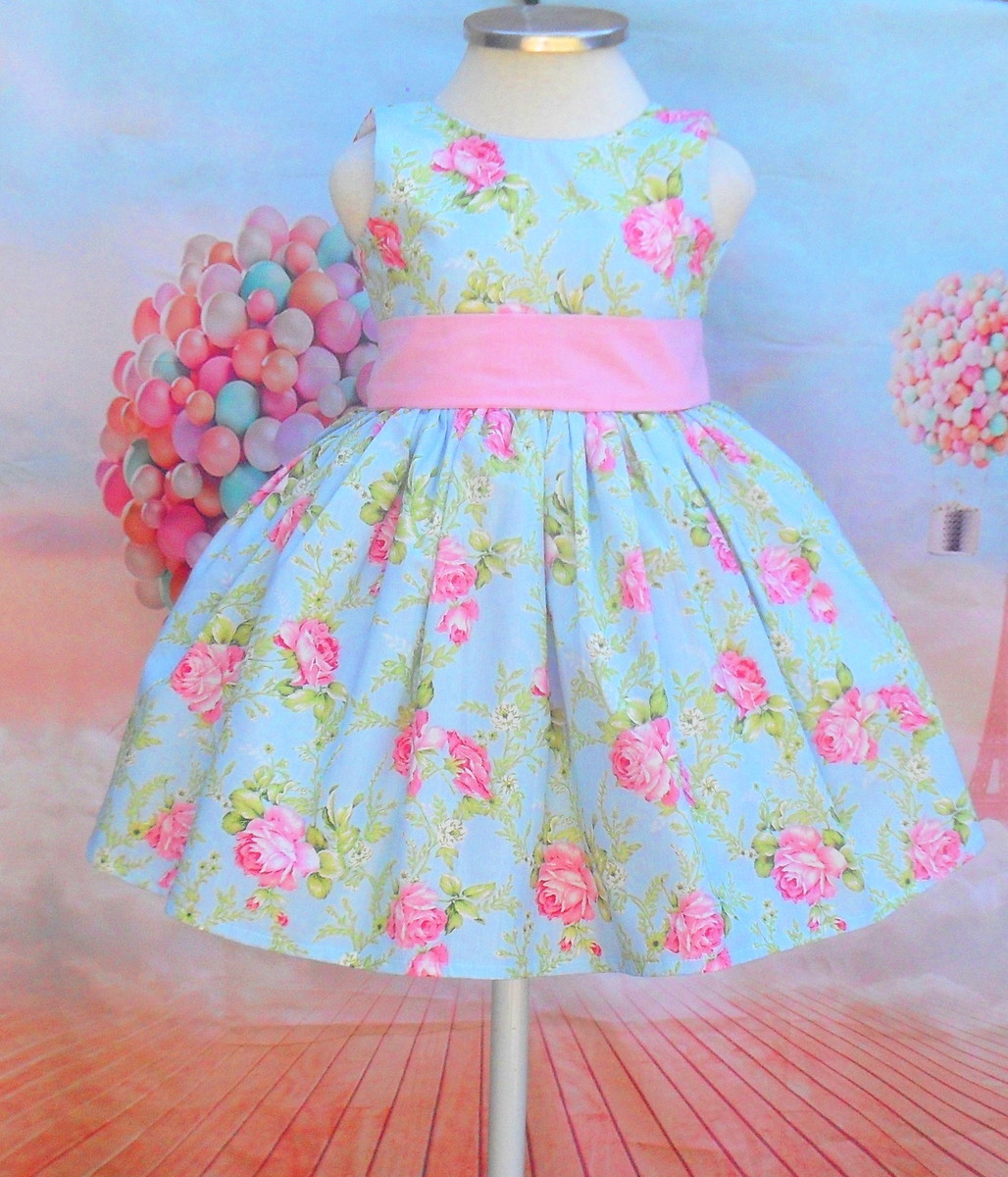 Vestido Infantil Florista Daminha