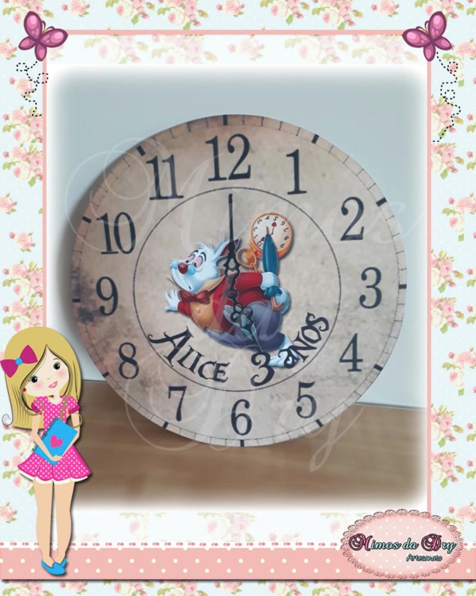 Placa Painel Relógio Coelho No Elo7 Mimos Da Dry C28354