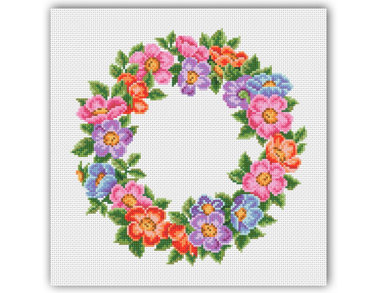 effe19075 Flores Coloridas - Gráfico Ponto Cruz no Elo7 | Thimage - Gráficos ...