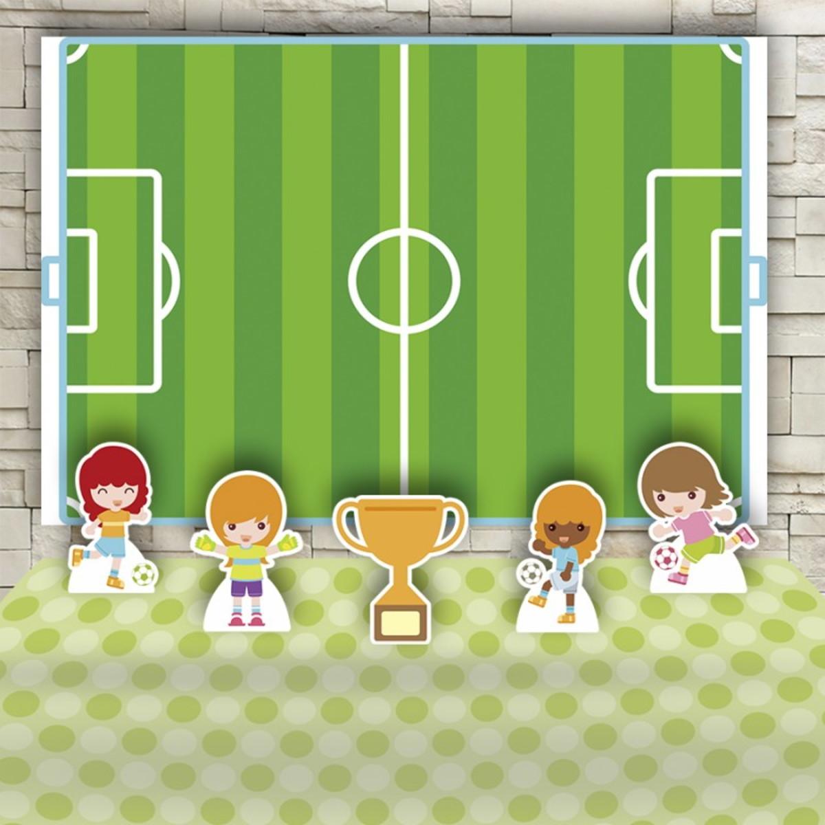 bfe6391d0c1ccb Kit Festa Prata Painel + Display Futebol no Elo7 | Impakto Visual ...