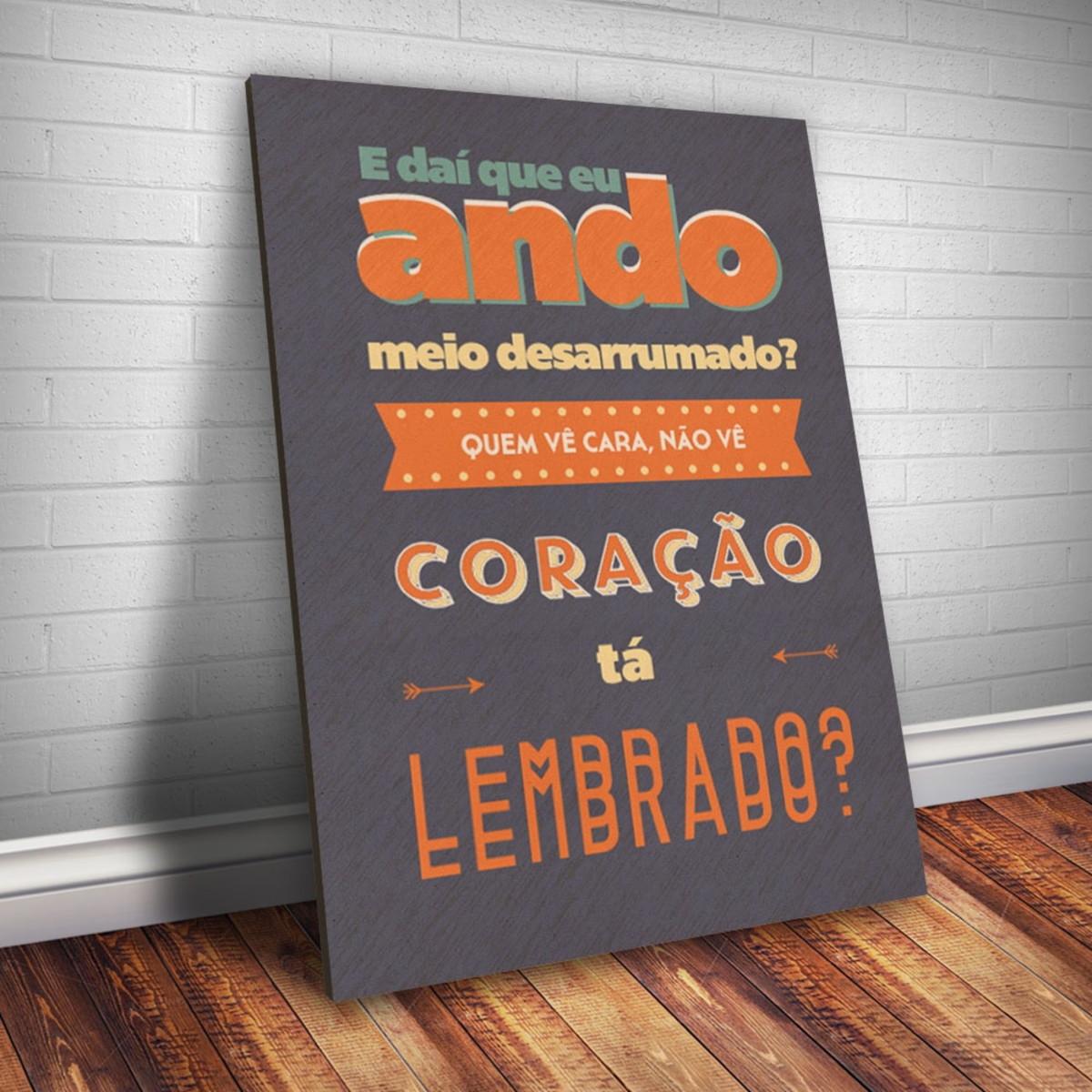 Placa Decorativa Frase De Música 91 30x20cm No Elo7 Fran Adesivos