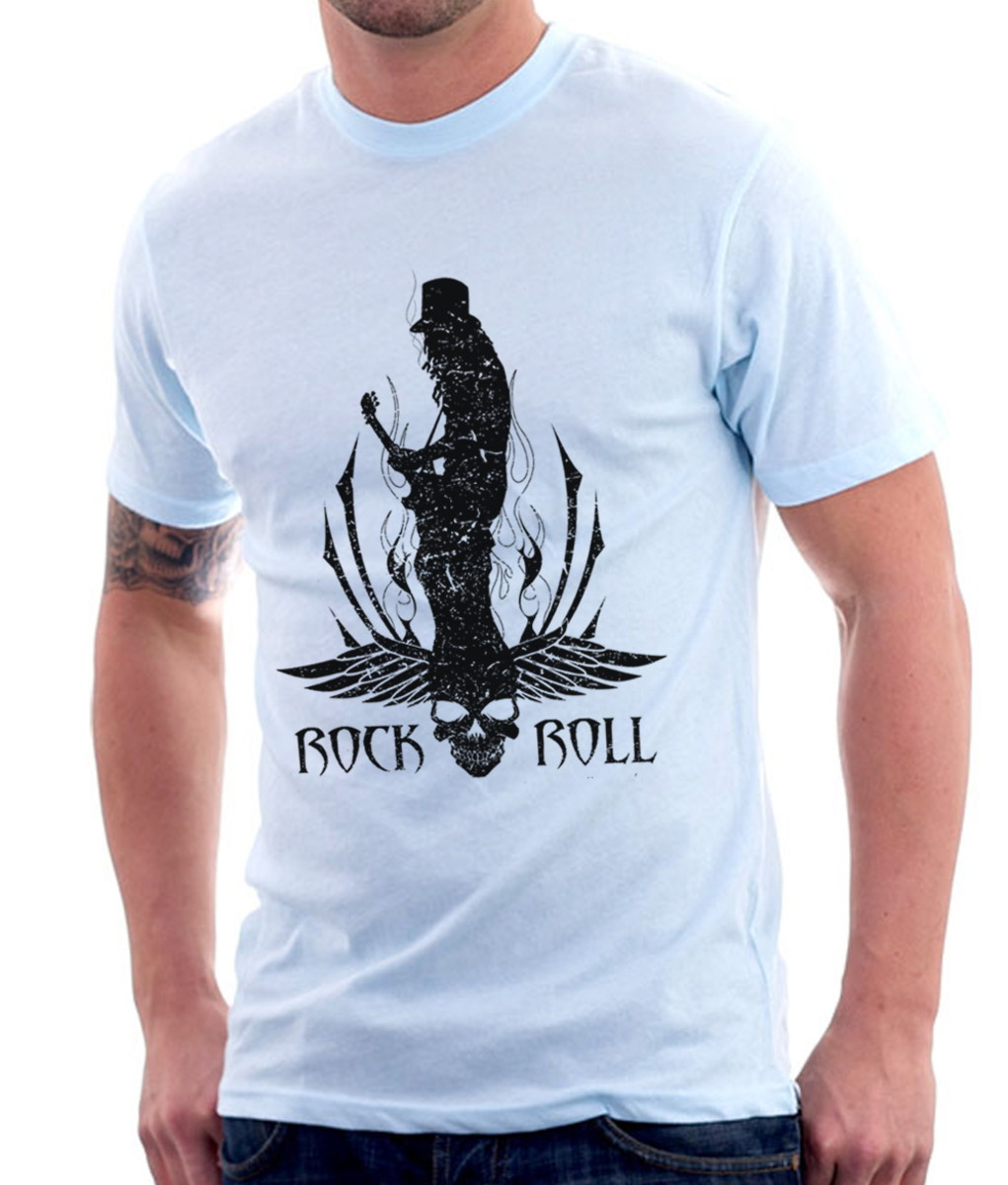 9fb6ba2a29 Camiseta Rock Slash Hard Rock Guitarra no Elo7 | Ostey Clothing (C2CB3D)