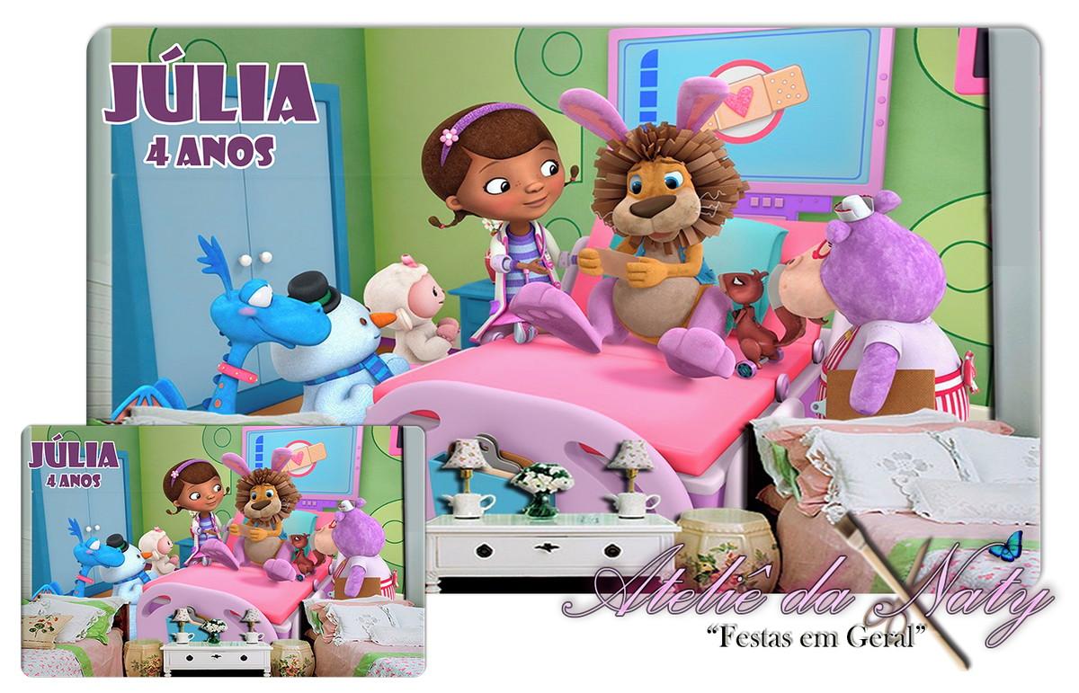 Jogo Americano Doutora Brinquedos No Elo7 Atelie Da Naty C2ccd5