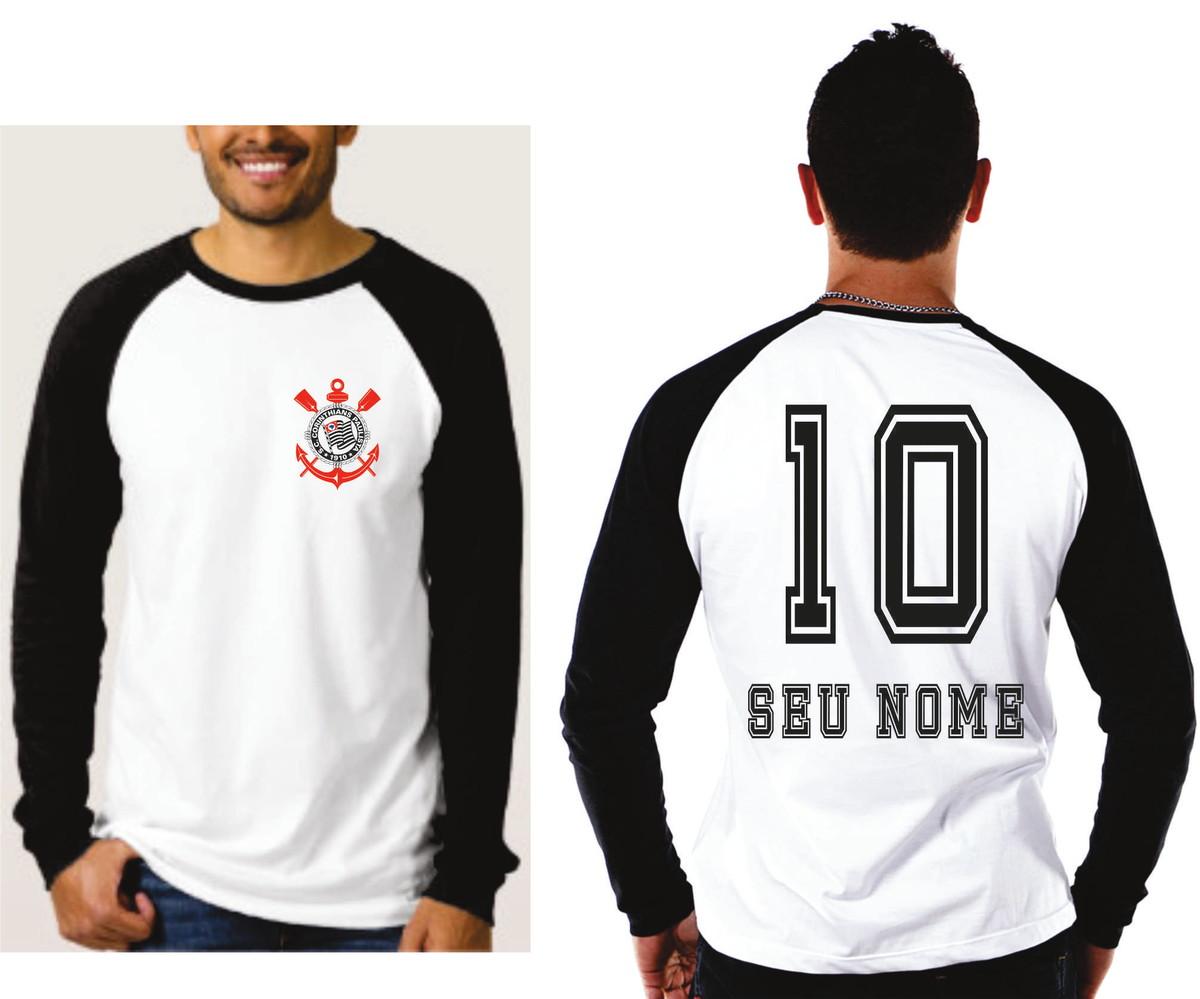 d4672fa6ecffc Camiseta Raglan Manga Longa Timao no Elo7