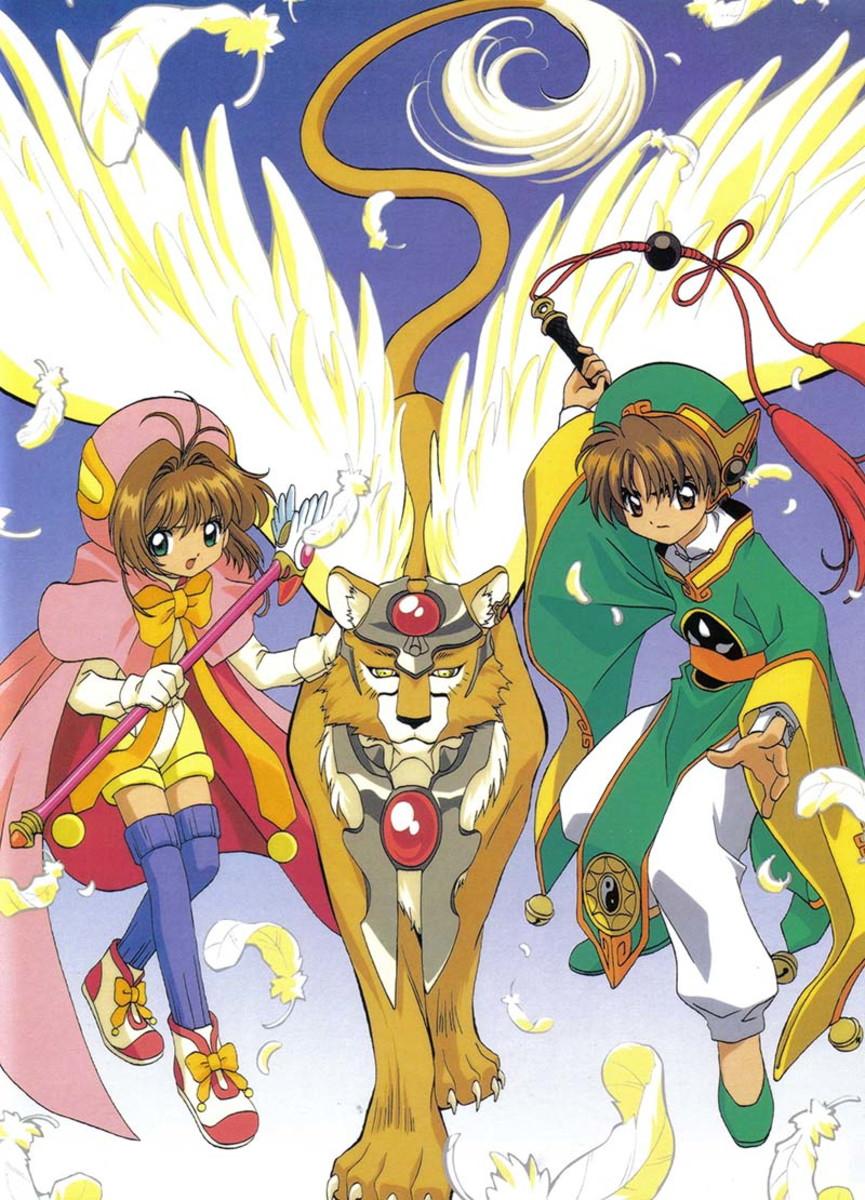 Big Poster Anime Sakura Card Captors Tamanho 90x60 Cm Lo02 No