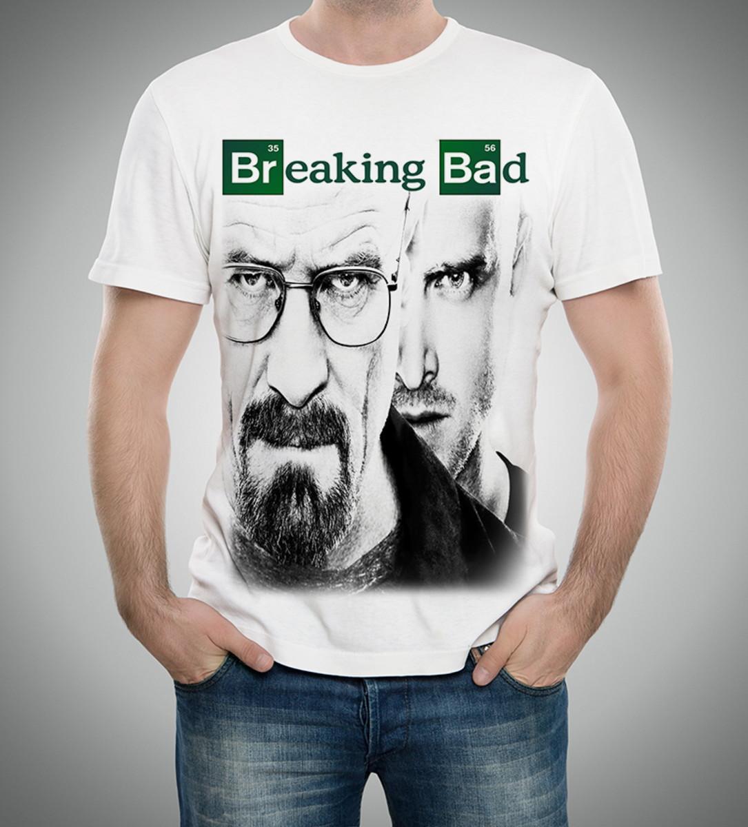 7ccb8a1a5 Camiseta T-shirt - Breaking Bad Walter White Heisenberg no Elo7 ...