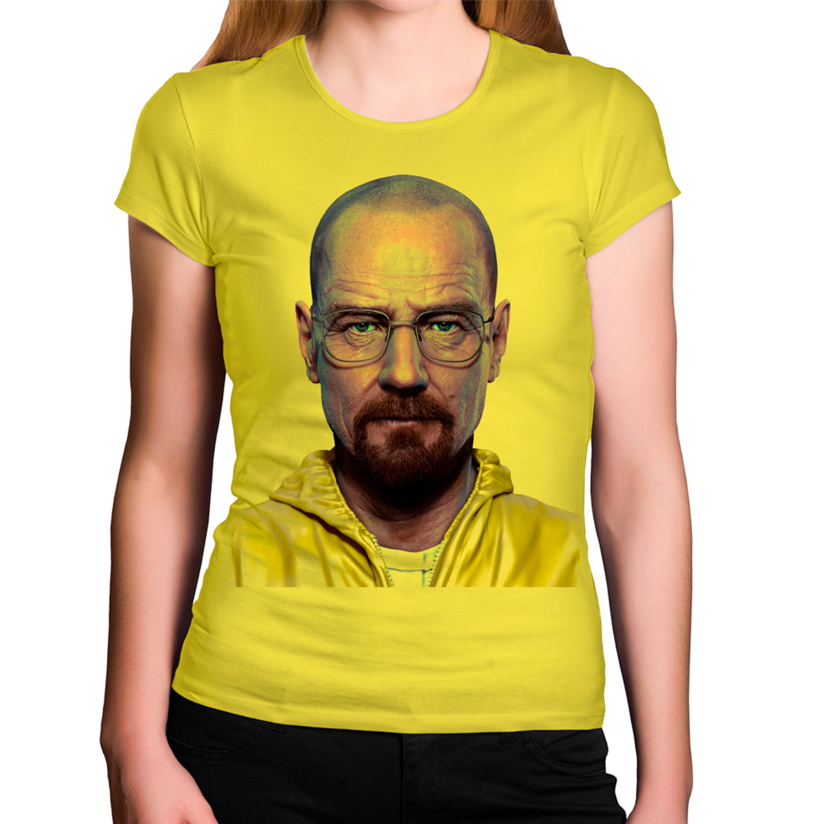 bac128728 Camiseta Feminina Amarela Breaking Bad Heisenberg Roupa Amar no Elo7 ...