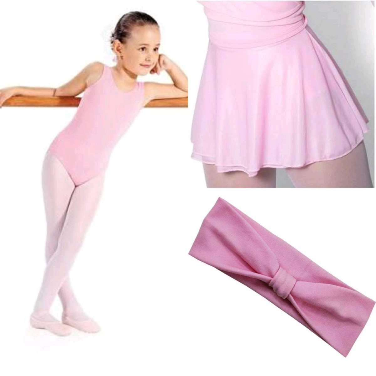 84c64c2f8d Kit de Roupa de ballet infantil no Elo7