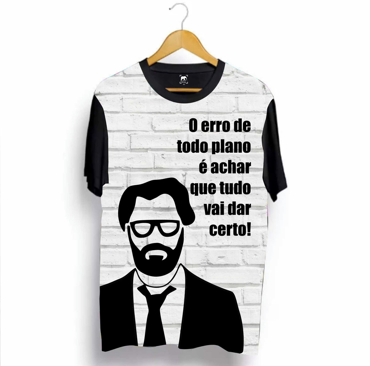Camiseta Professor La Casa De Papel Frase Ydias A5 No Elo7 Mp