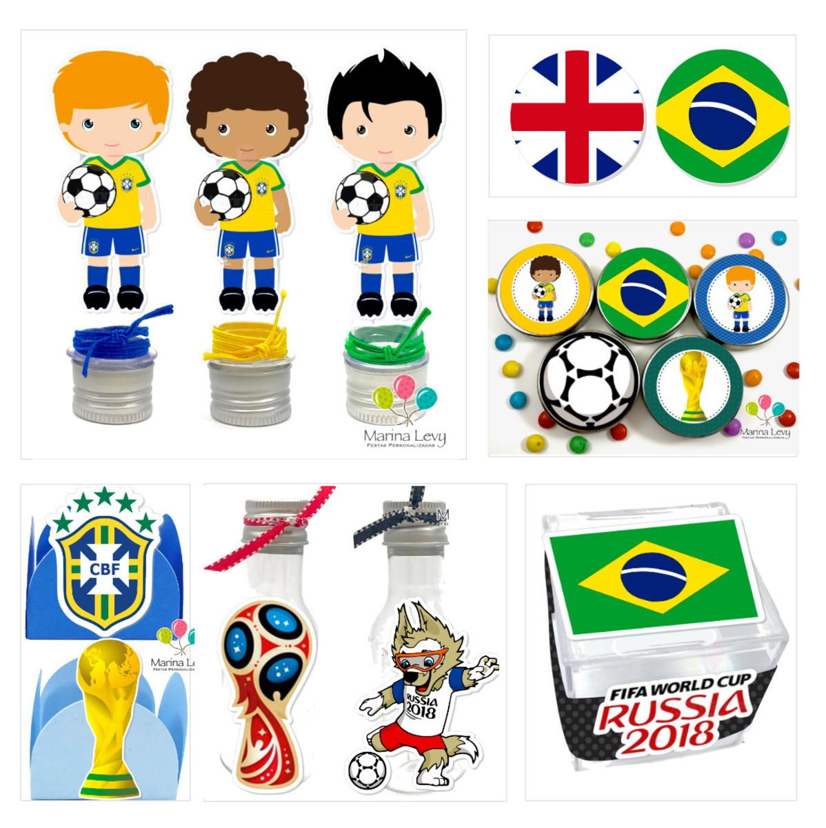 Kit Festa - Copa do Mundo no Elo7  644f4b959a80a