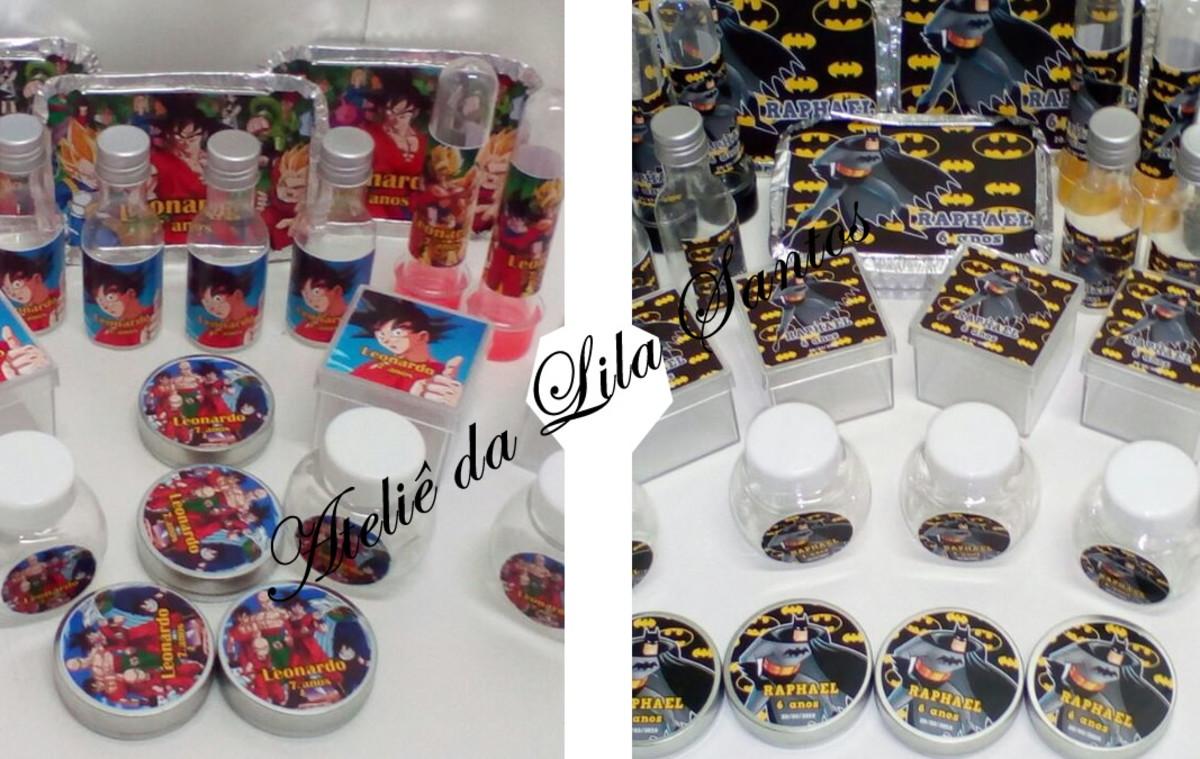 Kit Festa Batman com 50 itens no Elo7  e562700f51418