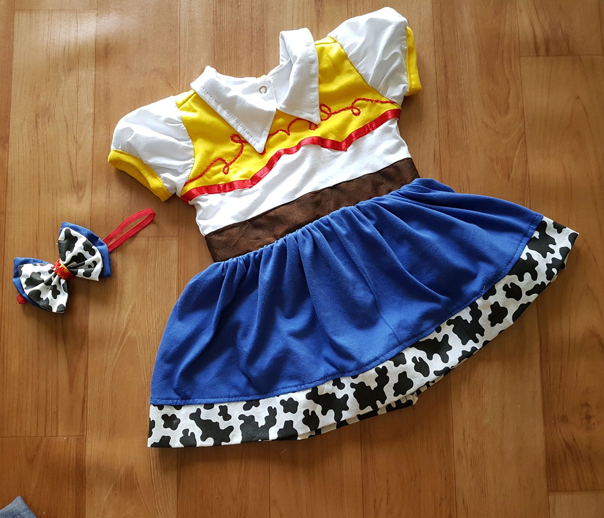 Body Fantasia Jessie - Toy Story no Elo7  79a1ff23300