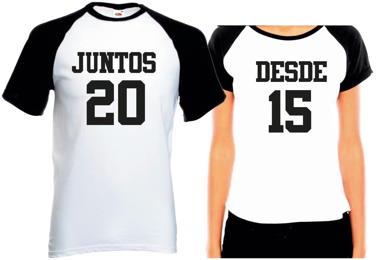 af0d60efe Camisetas Dia Dos Namorados Juntos Desde (seu Ano) Promoção no Elo7 ...
