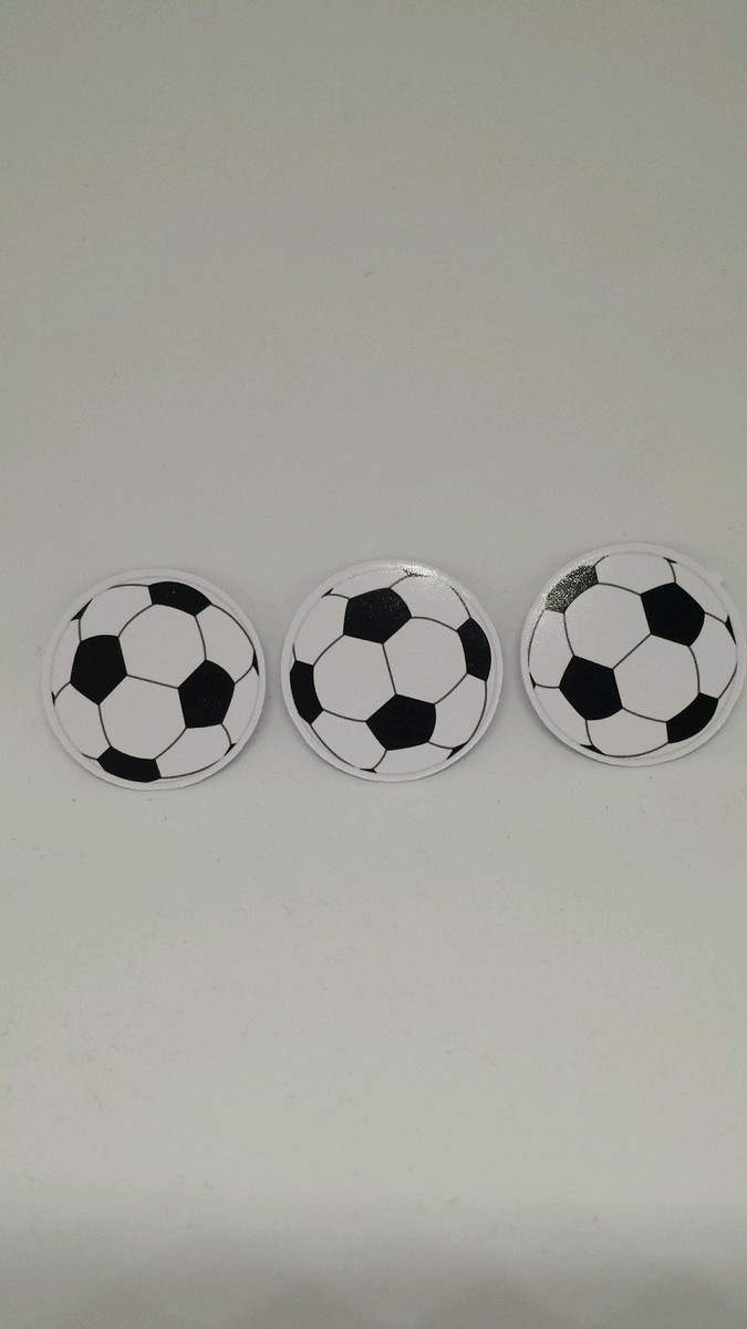 264258f0e3 Aplique Bola de Futebol no Elo7