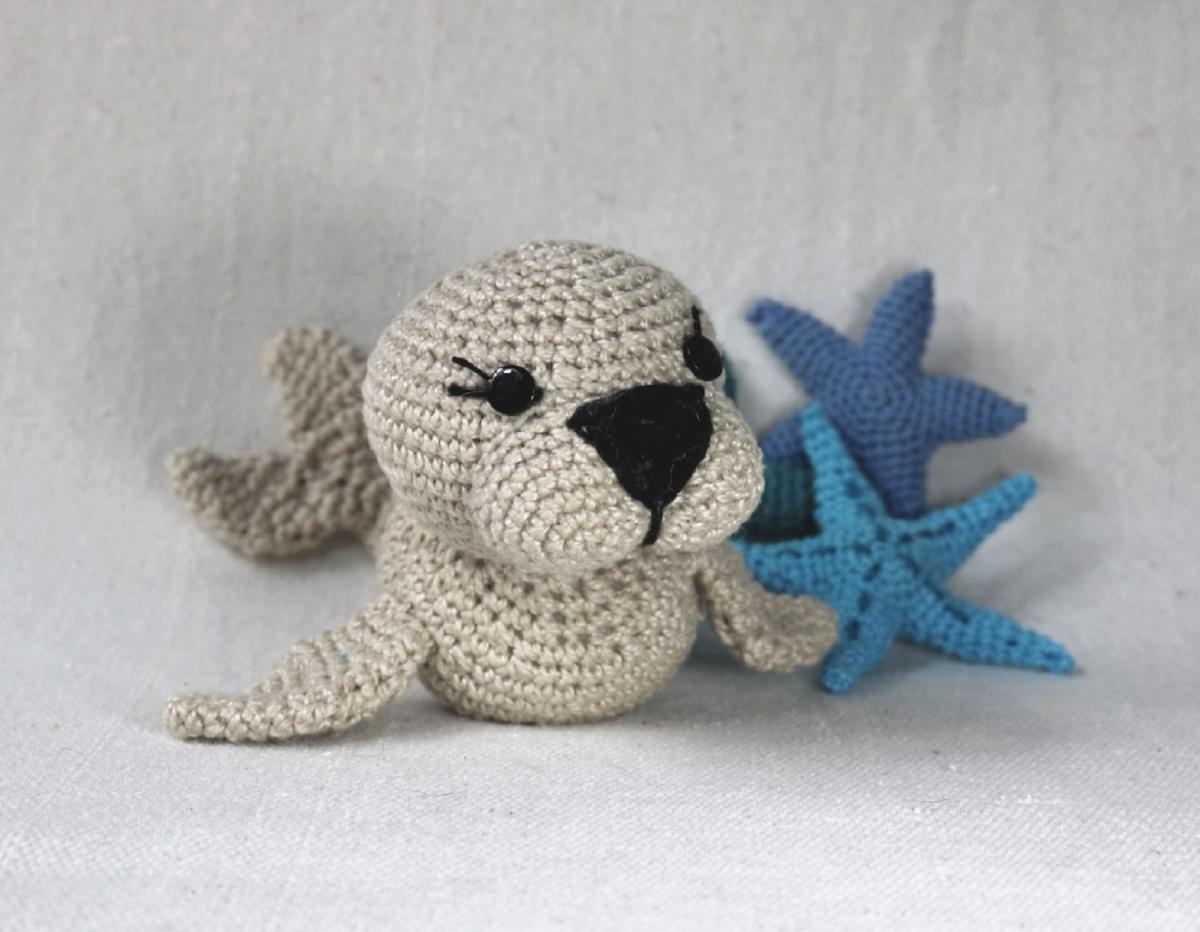 Receita Amigurumi Foca - Gráficos Foca de Crochê Inspiração - YouTube | 932x1200