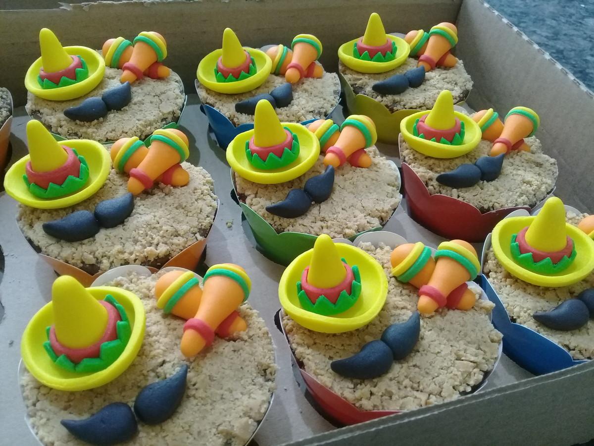 Cupcakes - Festa Mexicana no Elo7  6a8706b05aa