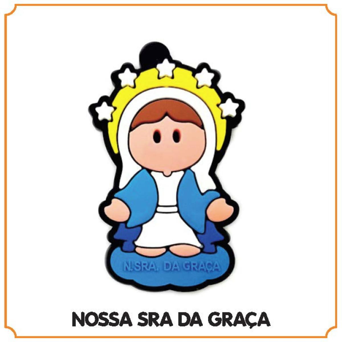 Chaveiro Religioso Nossa Senhora Da Graca No Elo7 Ghost