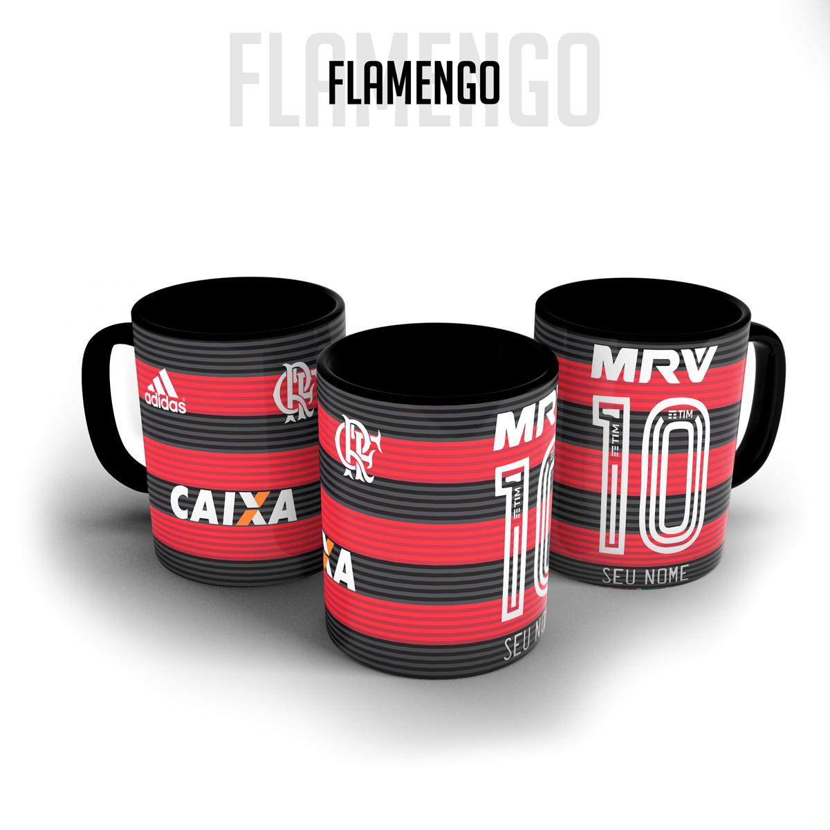 3de3546f93 Caneca porcelana - Camisa Flamengo personalizada com nome no Elo7 ...