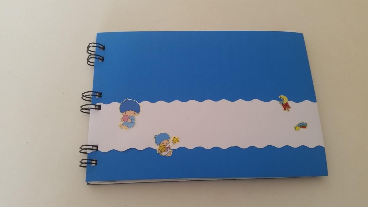 457761abe Álbum bebê azul no Elo7