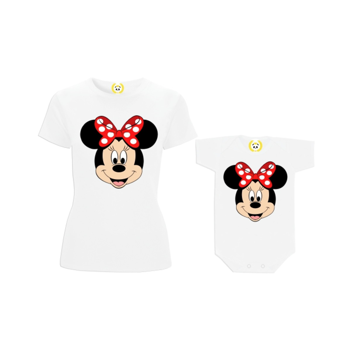 f6296be56 Kit Camiseta Minnie Mouse Disney Laço Tal Mãe Tal Filha no Elo7 ...