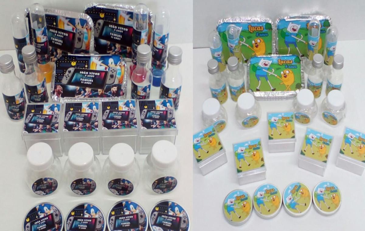 Kit Lembrancinhas Festa Tema Jogos com 100 itens no Elo7  c67faa09f7c79