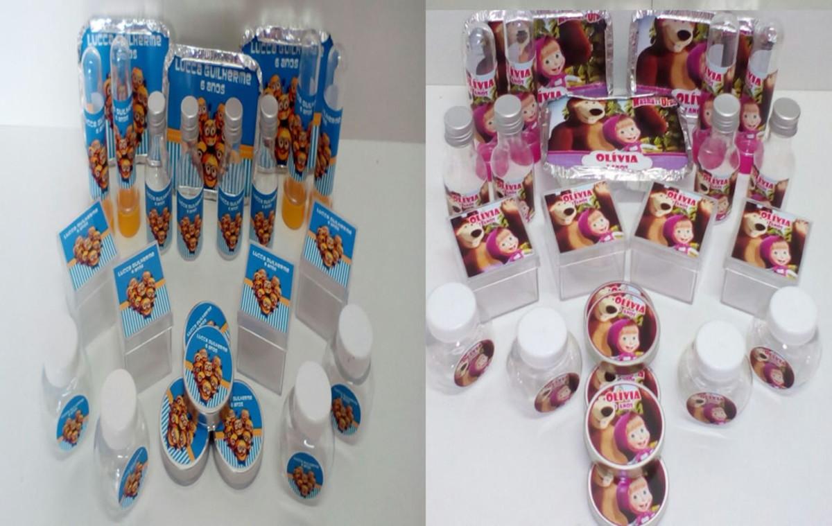 Kit Festa Infantil Tema Minions com 60 Itens no Elo7  36b1344c0ce68