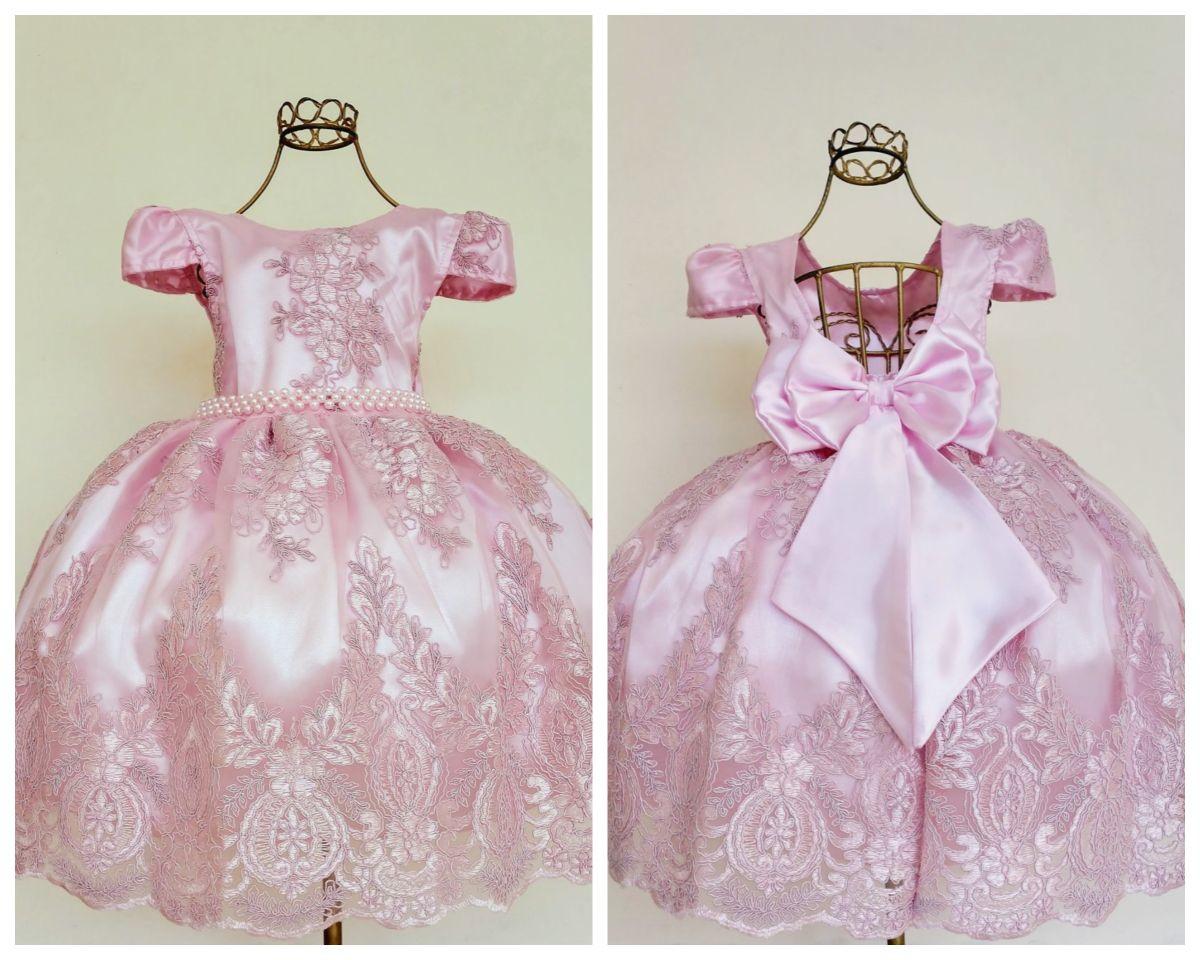 879971be73 Vestido infantil festa Realeza luxo chuva de amor princesa no Elo7 ...