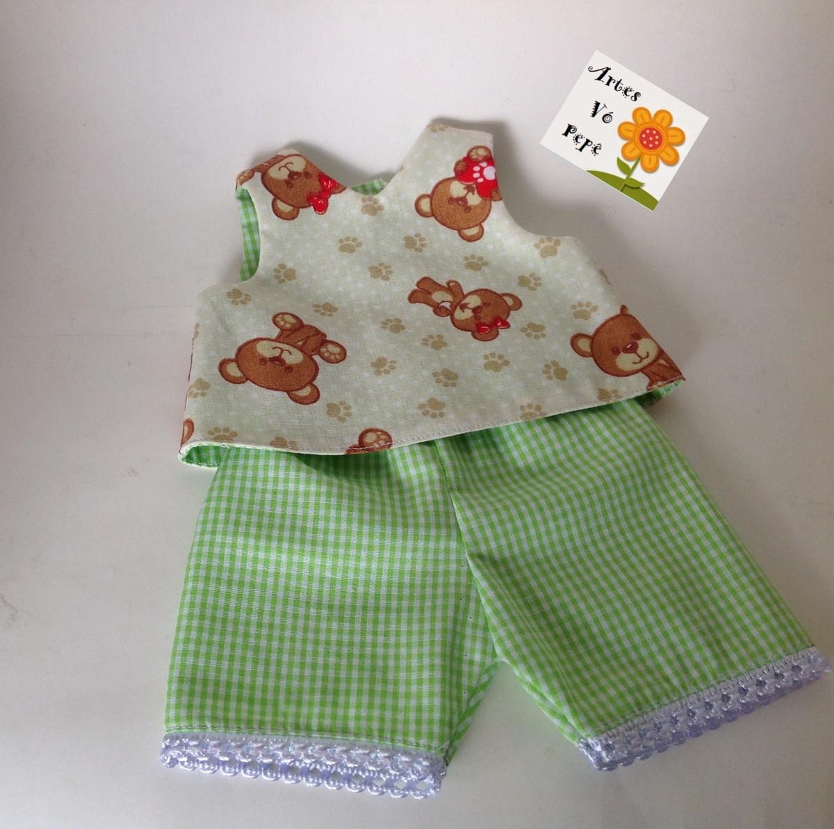 9553e3543 Pijama ou conjunto dupla face baby Alive (boneca) no Elo7